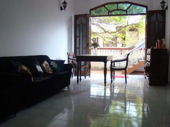 Muhsinvilla : this is the 2nd floor sitting area where you can watch the television and enjoy time with free h
