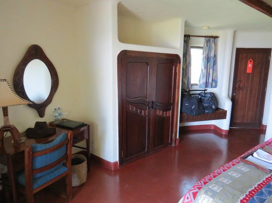 Lake Manyara Serena Lodge: Zimmer