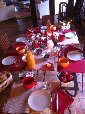 La Barillerie: Petit Déjeuner