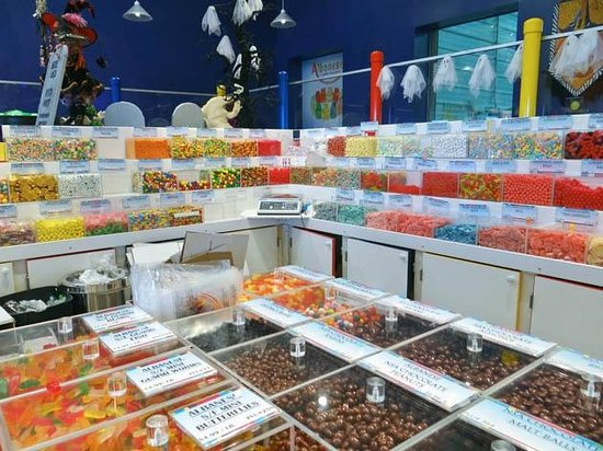Merrillville, Индиана: gummy, choco nut or sour belt