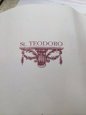 Caffe St. Teodoro