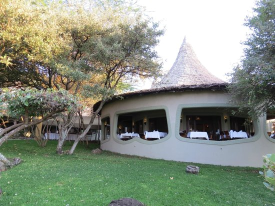 Lake Manyara Serena Lodge : Speisesaal