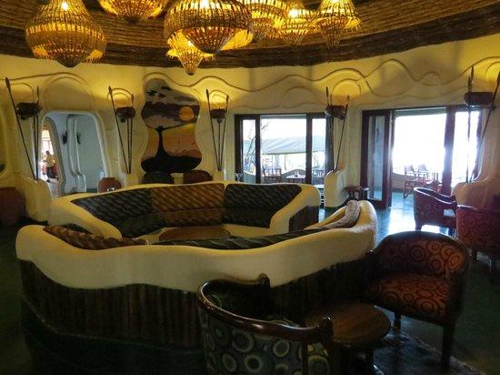Lake Manyara Serena Lodge: Lounge