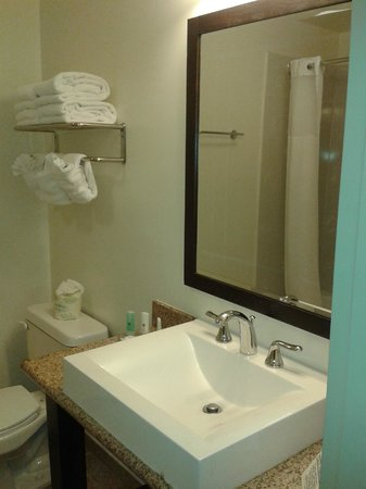 Clarion Hotel-Downtown Oakland: Baño