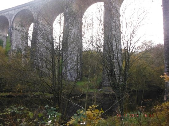 River Taff: under the viaduct