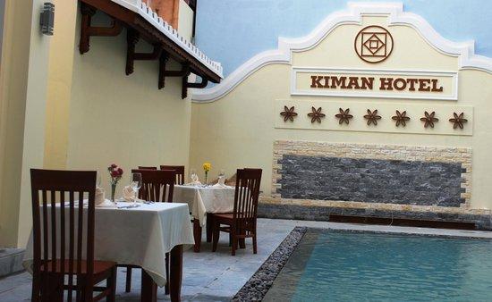 Kiman Hoi An Hotel & Spa: Kiman pool bar