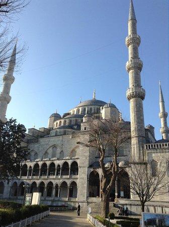 Blaue Moschee (Sultan-Ahmed-Moschee): 外観
