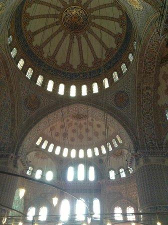 Mezquita Azul: 内部