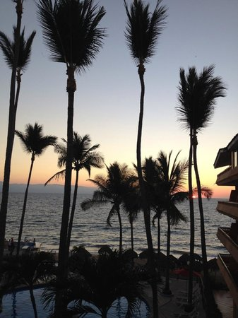 Las Palmas by the Sea: Sunset from our room