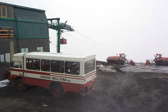 Monte Etna: Transportation up the volcano
