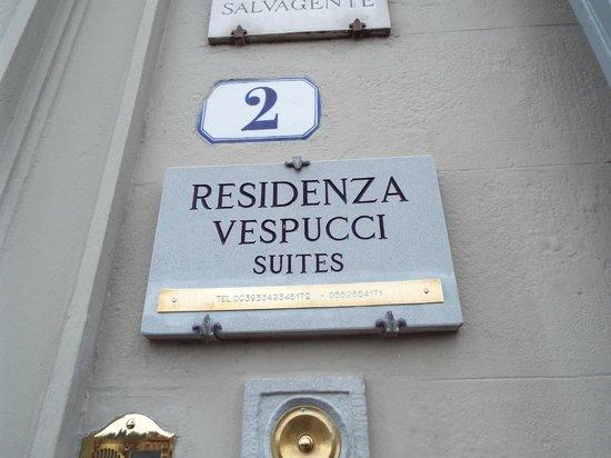 Residenza Vespucci: Entrance