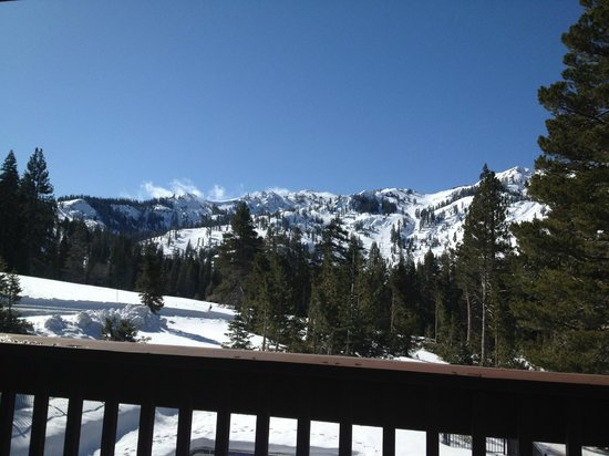 Stanford Alpine Chalet: View of Alpine Meadows Ski Hills from Room 11