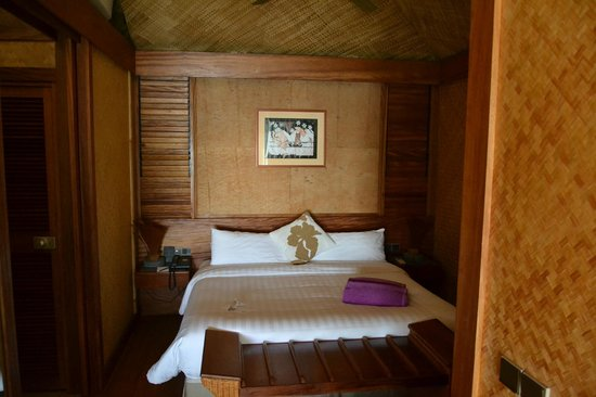 InterContinental Moorea Resort & Spa: chambre