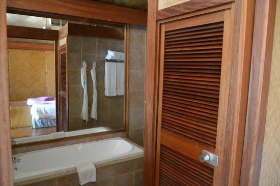 InterContinental Moorea Resort & Spa: salle de bains