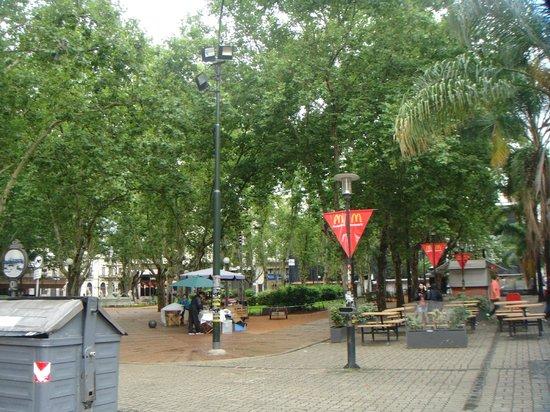 Catedral Metropolitana de Montevideo (Catedral Matriz): Plaza frente a la Catedral