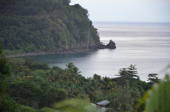 Rochers Caraibes-Eco Village : depuis la terrasse