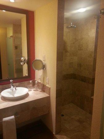 Hyatt Ziva Los Cabos : Shower