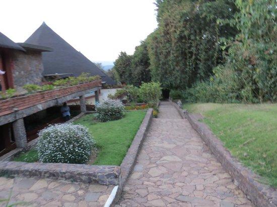 Ngorongoro Sopa Lodge: Anlage