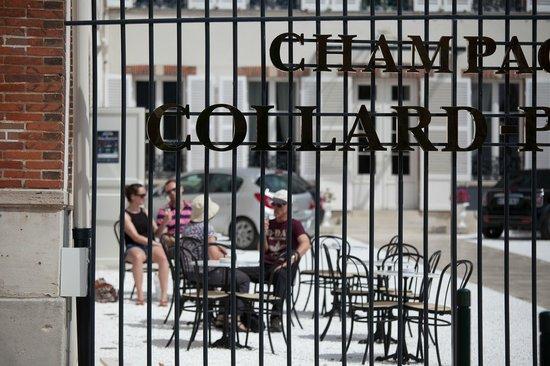 Champagne Collard-Picard : Dégustation extérieure Collard-Picard