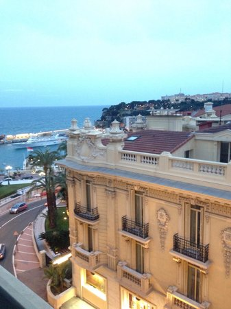 Hotel De Paris: View from 4th floor room