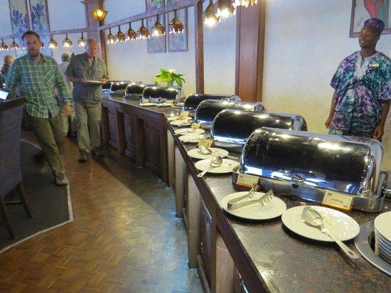 Ngorongoro Sopa Lodge: Speisesaal