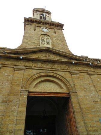 Catedral De San Bartolome De La Serena: Detalle del frente.