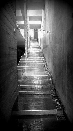 Natalino Hotel Patagonia : Waterfall staircase