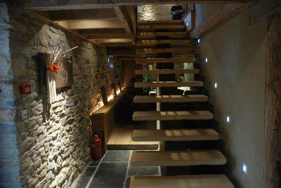 L'Auberge du vieux Moulin : Hall