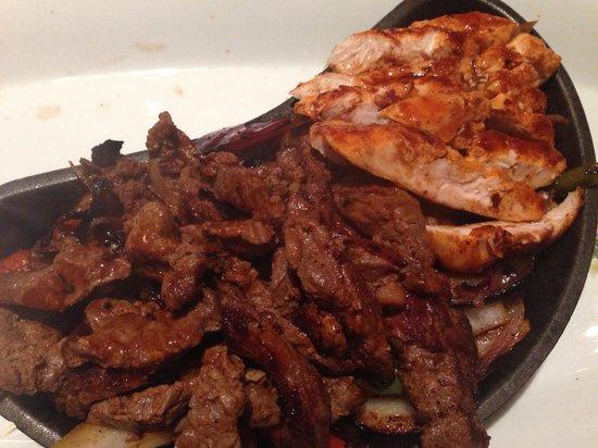 Steak and chicken fajitas - Picture of Luna Modern Mexican Kitchen ...