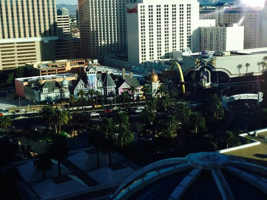The Mirage Hotel & Casino: View from a Premium View Room on the 19th Floor