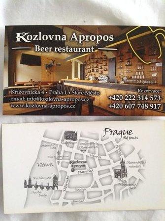 Kozlovna Apropos: card