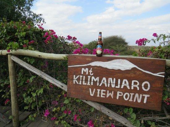 Kia Lodge – Kilimanjaro Airport: Aussichtspunkt