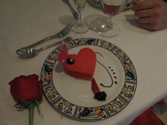 Sun Palace : Valentine's dinner