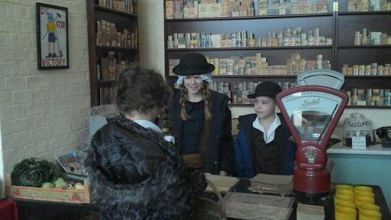 Nothe Fort: WWII shop