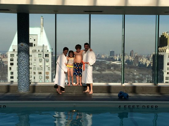 Le Parker Meridien New York: View from the rooftop pool