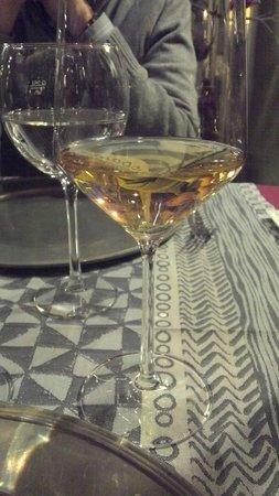 Restaurant le Moréote : Gewurztraminer grande cuvée j'en ai encore toutes les saveurs en bouche