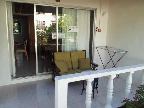 Le Tropique Villa : Terrasse