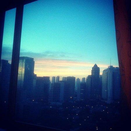 Shangri-La Hotel Jakarta: View from my room