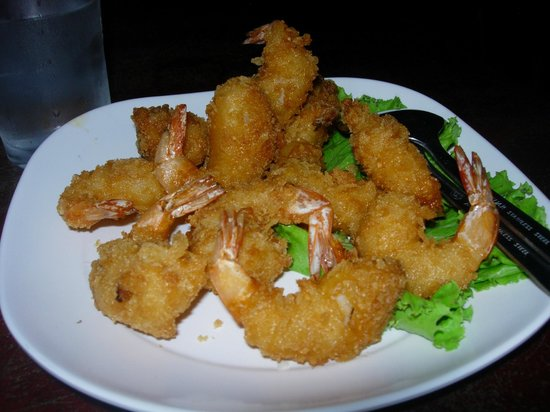 Magic Resort: Tempura prawns