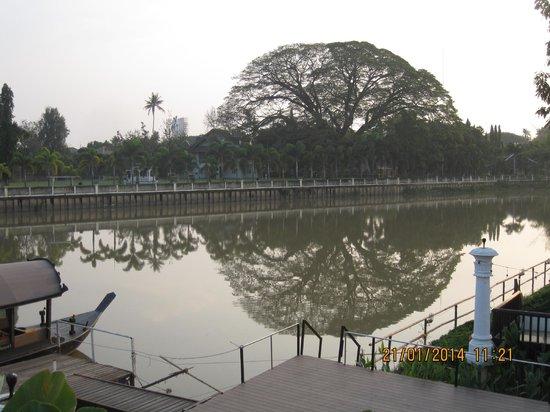 Ratilanna Riverside Spa Resort Chiang Mai : Il fiume Mae Ping