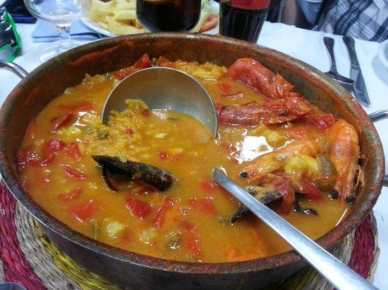 Saint Tropez Los Mellizos: la paella