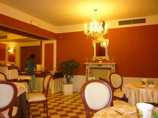 San Luca Palace Hotel: sala colazione