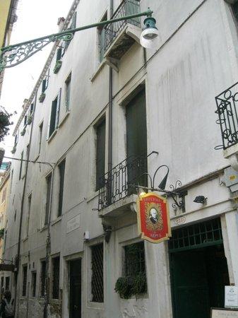 Locanda Sant'Agostin: Outside the hotel