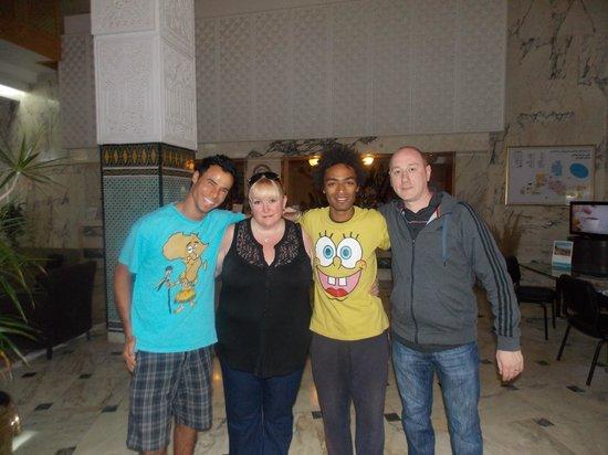 Marhaba Beach Hotel: Timo and Tiga Animation Team