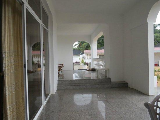 Jamelah Beach Guest House: Anlage