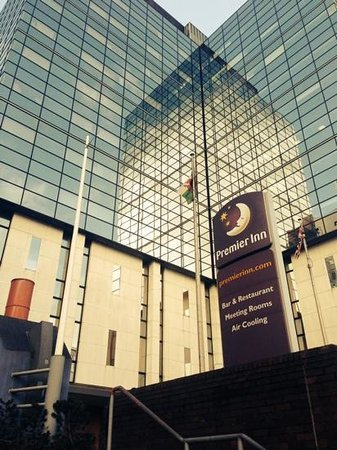 Premier Inn Cardiff City Centre Hotel: great hotel