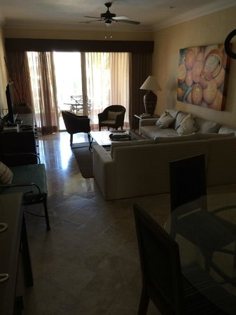 Villa La Estancia Beach Resort & Spa Riviera Nayarit: Suite living room (part of the A unit of each AB suite)