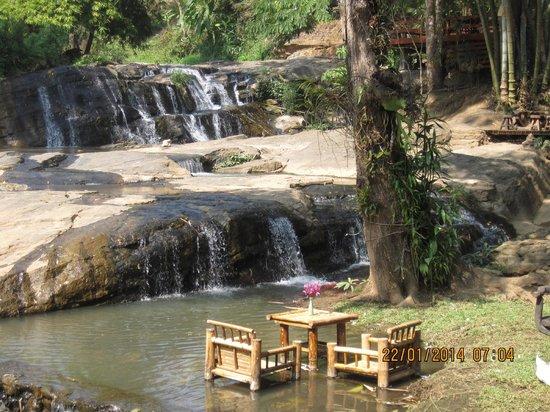 Sukantara Cascade Resort & Spa : in mezzo alle cascate