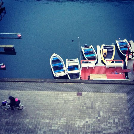 Copenhagen Island Hotel: View from hotel bedroom window