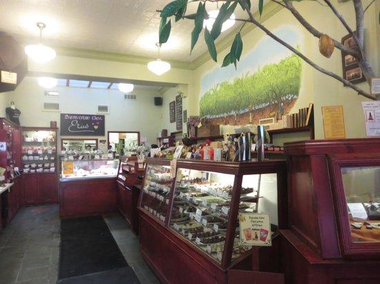 Erico - Creative Chocolate Shop and Chocolate Museum : Store area